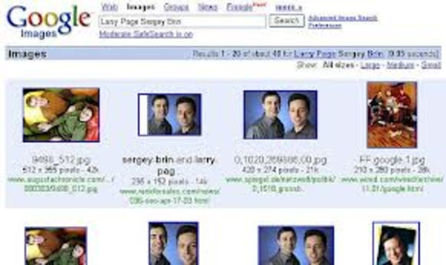 Image search was develpoed
