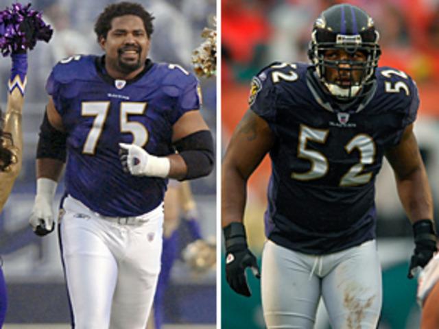 Ravens draft Jonathen Odgen and Ray Lewis