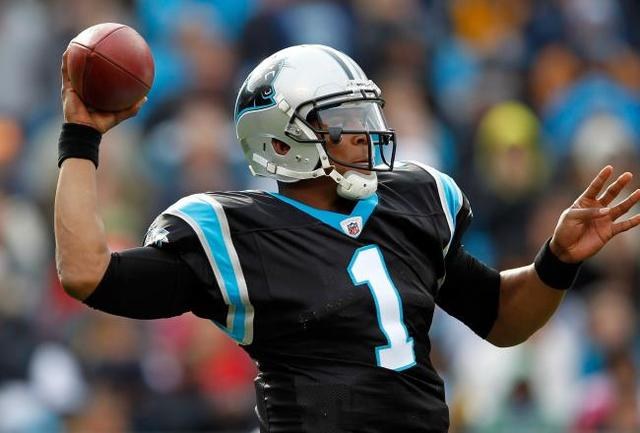 Cam newton breaks rookie records