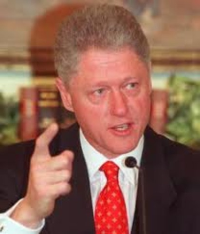 Bill Clinton was elected 42nd President