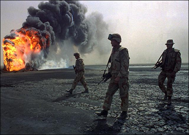 Persian Gulf War Began