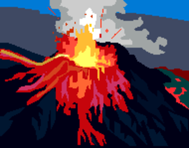 Sangihe Islands (Indonesia). Volcano