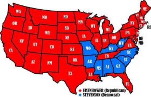 United States Election on the year of 1952