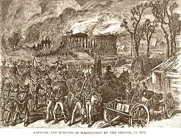 Britain burns D.C.