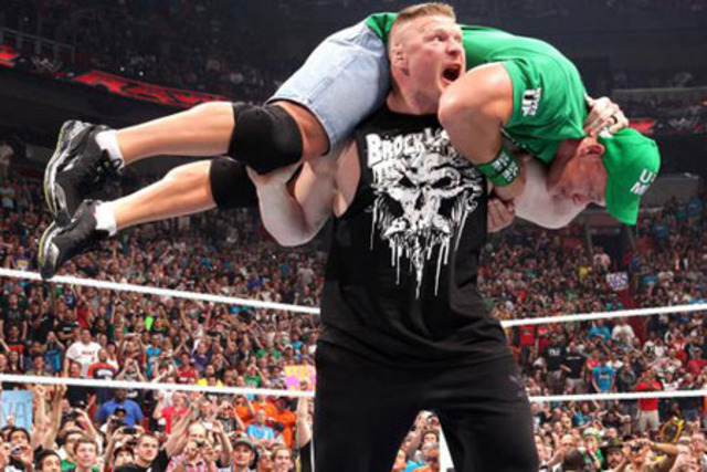 Lesnar returns to WWE