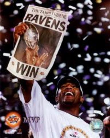 Ravens win super bowl 35