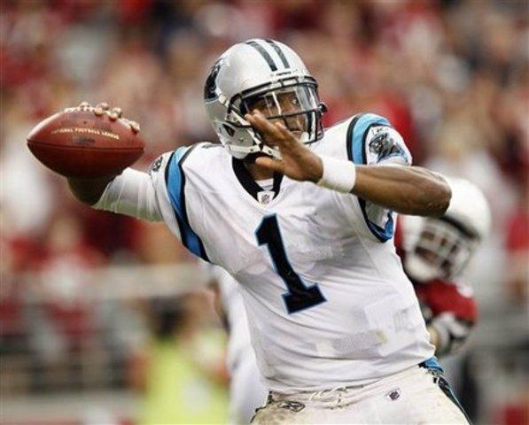 Cam Newton breaks record