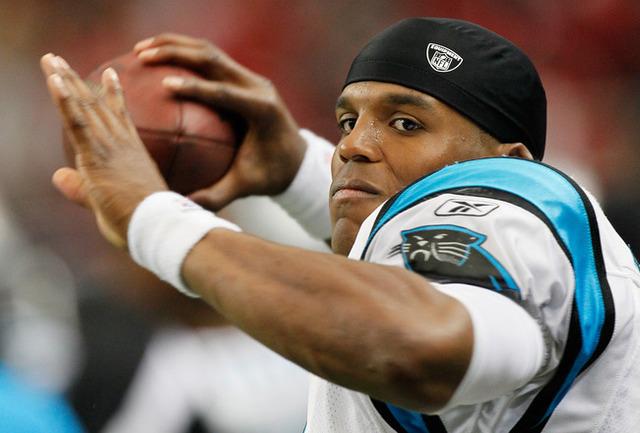 Cam Newton breaks NFL record