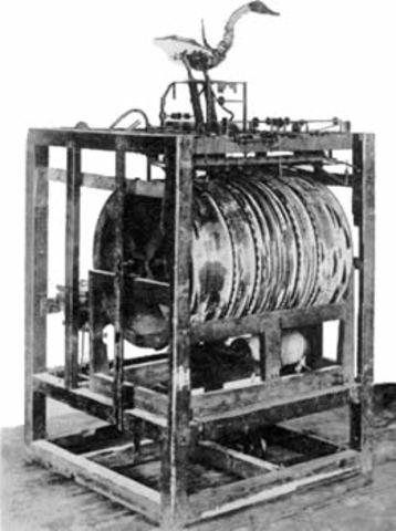 Jacques Vaucanson famous automaton