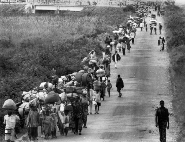 Civil war in Rwanda