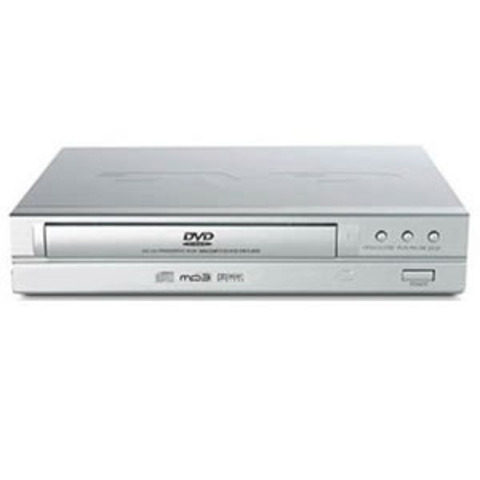 The DVD player was invented