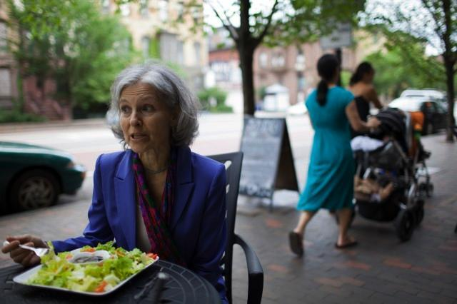 Jill Stein anholdt