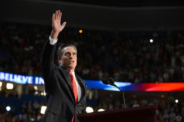 Romney som officiel kandidat