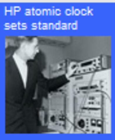 HP 5060A atomic clocks created