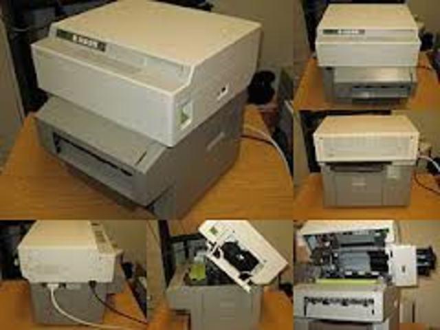 HP invents LaserJet