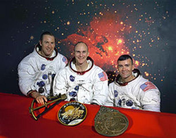Apollo 1 Mission Setback