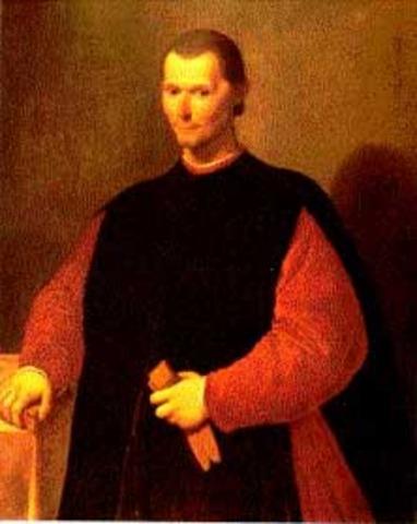 "Literature: ""The Prince"" prose written by Niccolò Machiavelli"