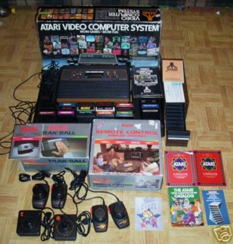 A great invention the Atari 2600 (VCS)