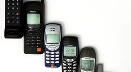 History of Mobile phones timeline