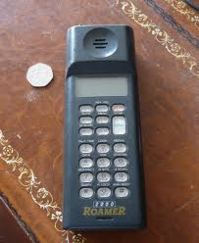 My parents first Mobile Phone