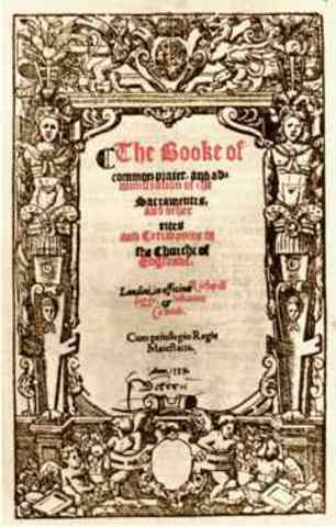 First Music Setting of English Liturgy created