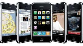 History of the IPhone timeline
