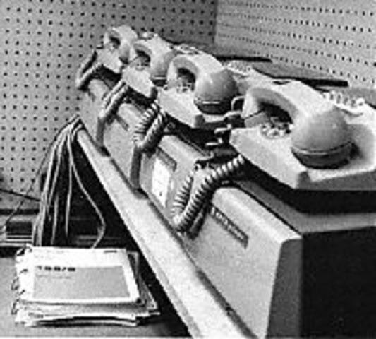FIrst data phone created