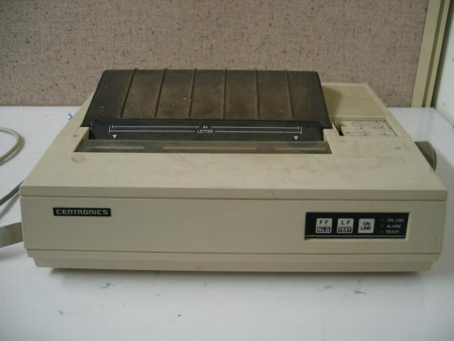First Dot Matrix Printer is Released