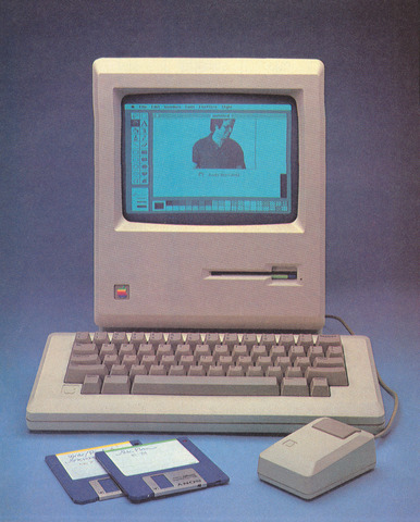 The Apple Macintosh is introduced