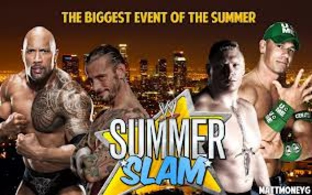 watched summer slam
