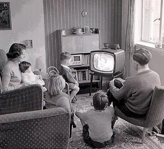 Aparicion de la TV