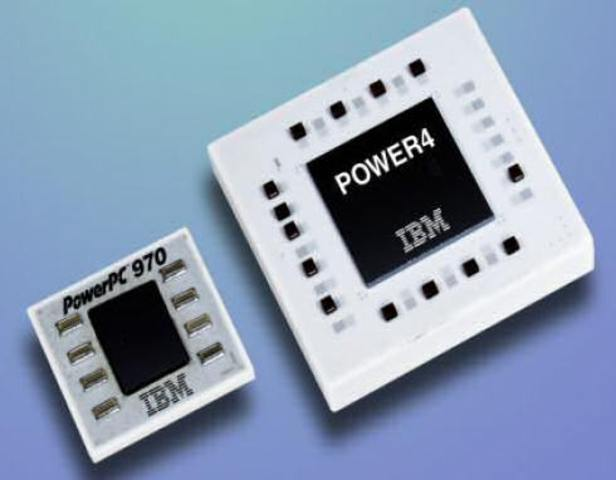 The POWER4 is released by IBM.