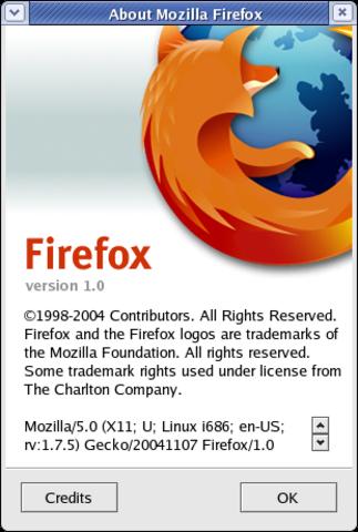 Firefox 1.0 Introduced