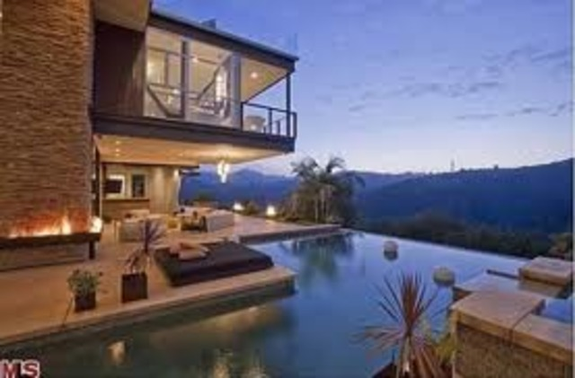 justin moves into his new house.
