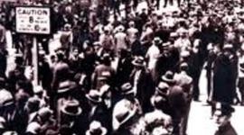 The Great Depression timeline
