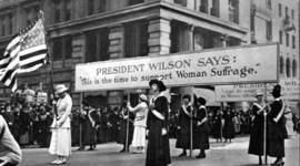 Woman's Right to Vote in the USA timeline