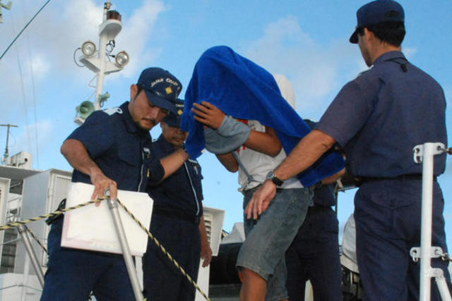 Japan frees Chinese Activsts