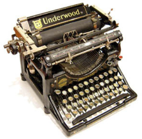First Electronic Typewriter