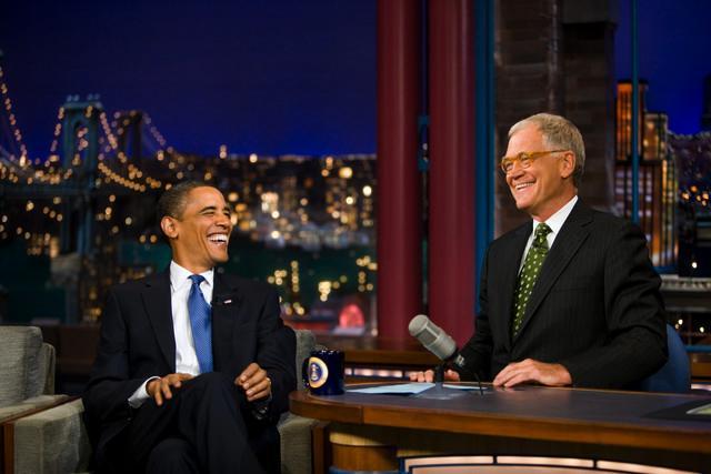 Obama gæst i The Late Show