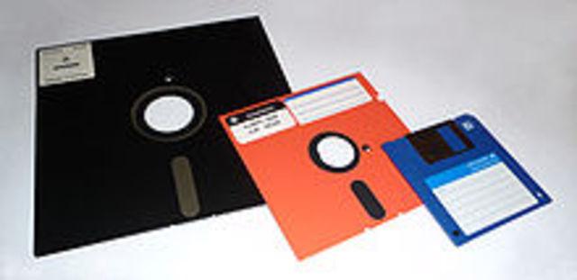 First Floppy Disks