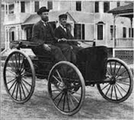 First Gasoline Automobile
