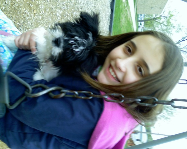 Got my Dog Oreo