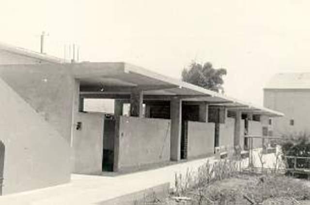 Construcción de camerines