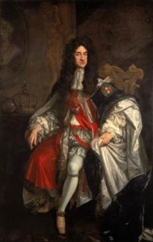 Monarchy is restored with Charles II