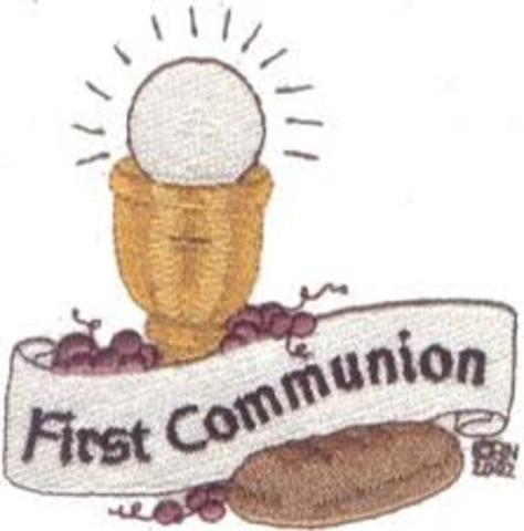 Made my 1st Communion