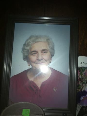 Grandma Helfrich Died
