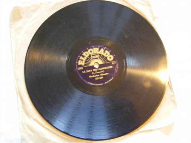 Invention du disque 78 tours