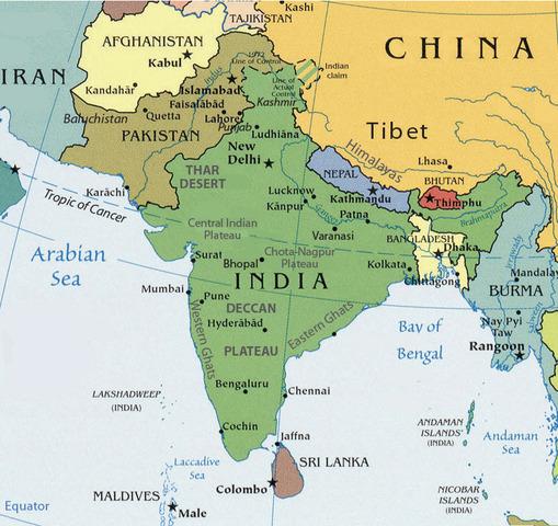 Modern India/Pakistan/Bangladesh/Sri Lanka timeline ...