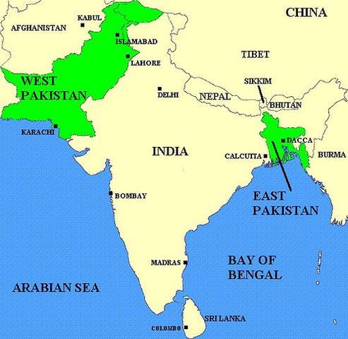 Modern India Pakistan Bangladesh Sri Lanka Timeline Timetoast