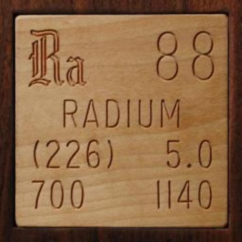 Radium is Isolated